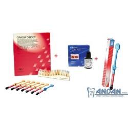 Gradia Zestaw 7 strzykawek+BOND+1 strzykawka