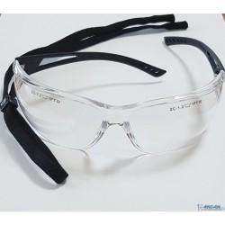 Okulary Przezroczyste Z Gumką UVA/UVB
