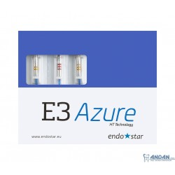 Pilniki E3 Azure Zestawy 3 pilniki