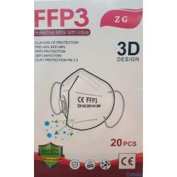 Maska FFP3 Ochronna