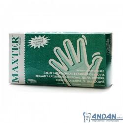 Rękawice lateksowe miętowe - Maxter