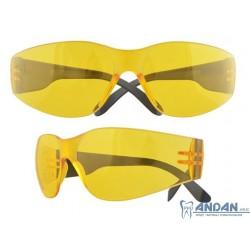 Okulary UV400 Przeźroczyste/Pomarańczowe